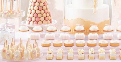Słodkie stoły - propozycja podania